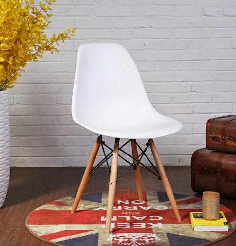 Eames Chairs 伊姆斯椅 白色/北歐風/餐桌椅/免運費