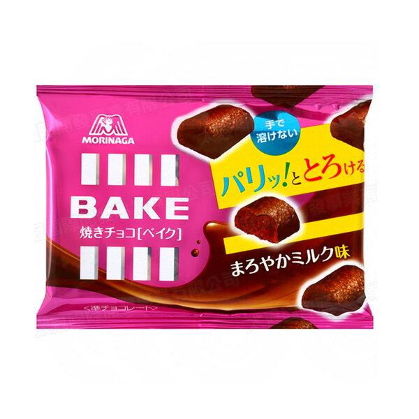 日本 MORINAGA 森永製果 BAKE 牛奶巧克力餅乾