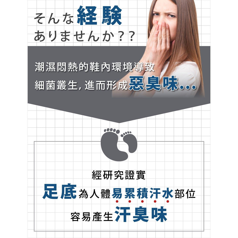 【淳】足下對策軽爽鞋墊3入組★Atsushi(輕足版_3尺寸任選) 2
