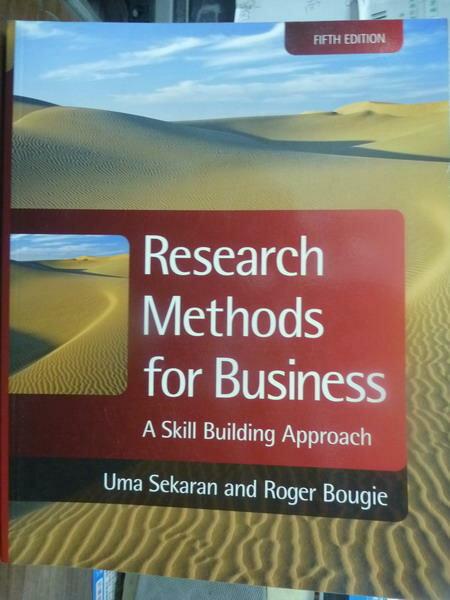 ~書寶 書T4/大學商學_QDK~Research Methods for Busines