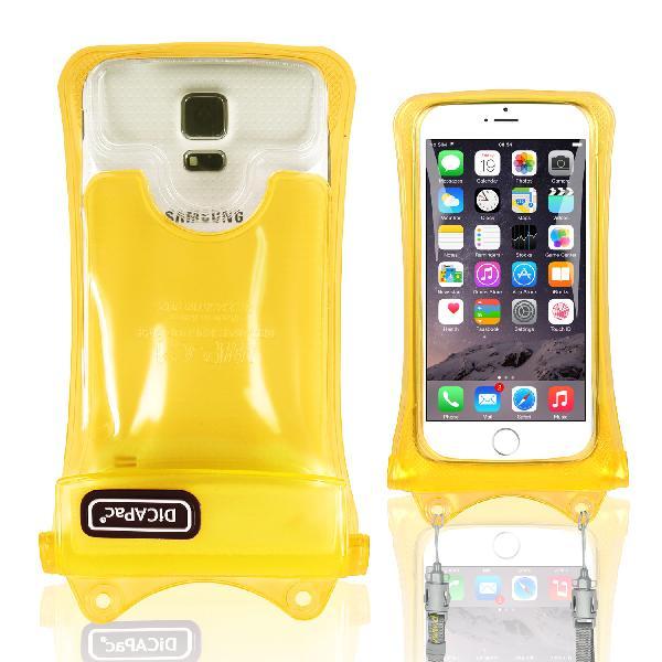 DiCAPac WP-C1s(有現貨)手機防水袋(5.1吋)-黃色