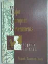 【書寶二手書T6/旅遊_YAQ】Major European governments_Alex N. Dragnich,