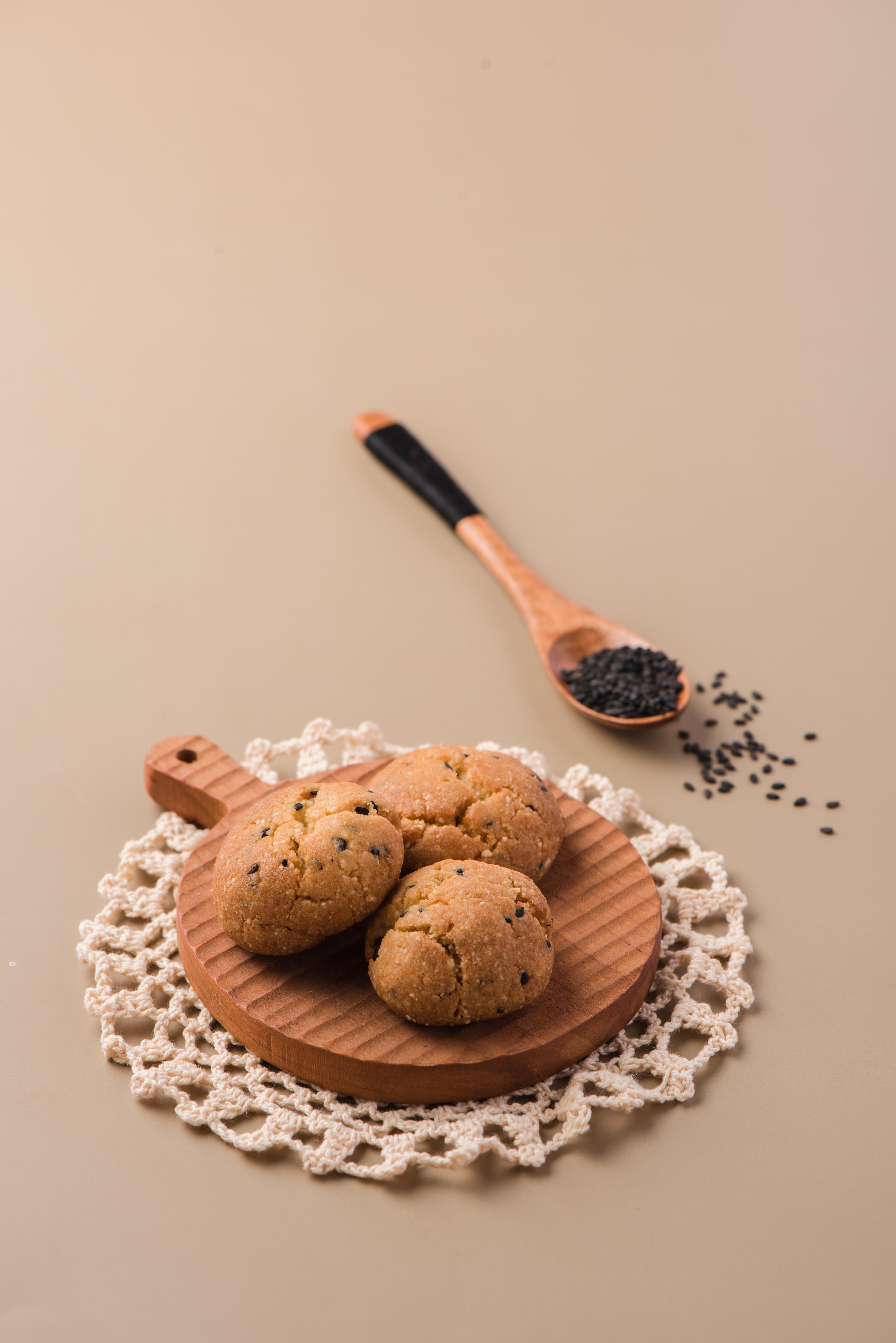 低醣蓁果黑芝麻餅乾(75g)