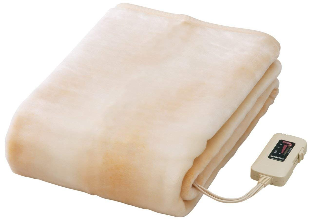 日本製【椙山紡織NAKAGISHI】電熱長蓋毯 180×85cm NA-08SL