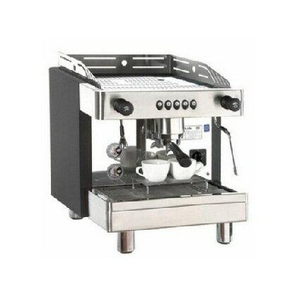 KLUBL1營業用單孔半自動咖啡機專業美觀6公升大鍋爐--【簡餐店適用的咖啡機】