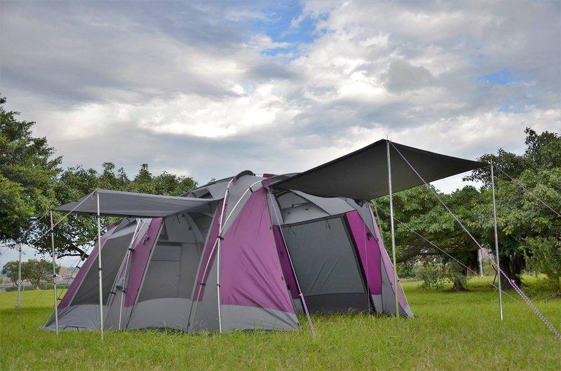【露營趣】中和 預定送禮 好野 Outthere 星墅 StarVilla 豪華六人家庭帳 別墅帳 一房一廳 客廳帳 大露營帳篷