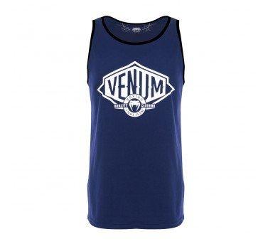 [古川小夫]S號VENUM眼鏡蛇背心~籃球背心~健身背心~VENUM拳擊格鬥運動背心-深藍065