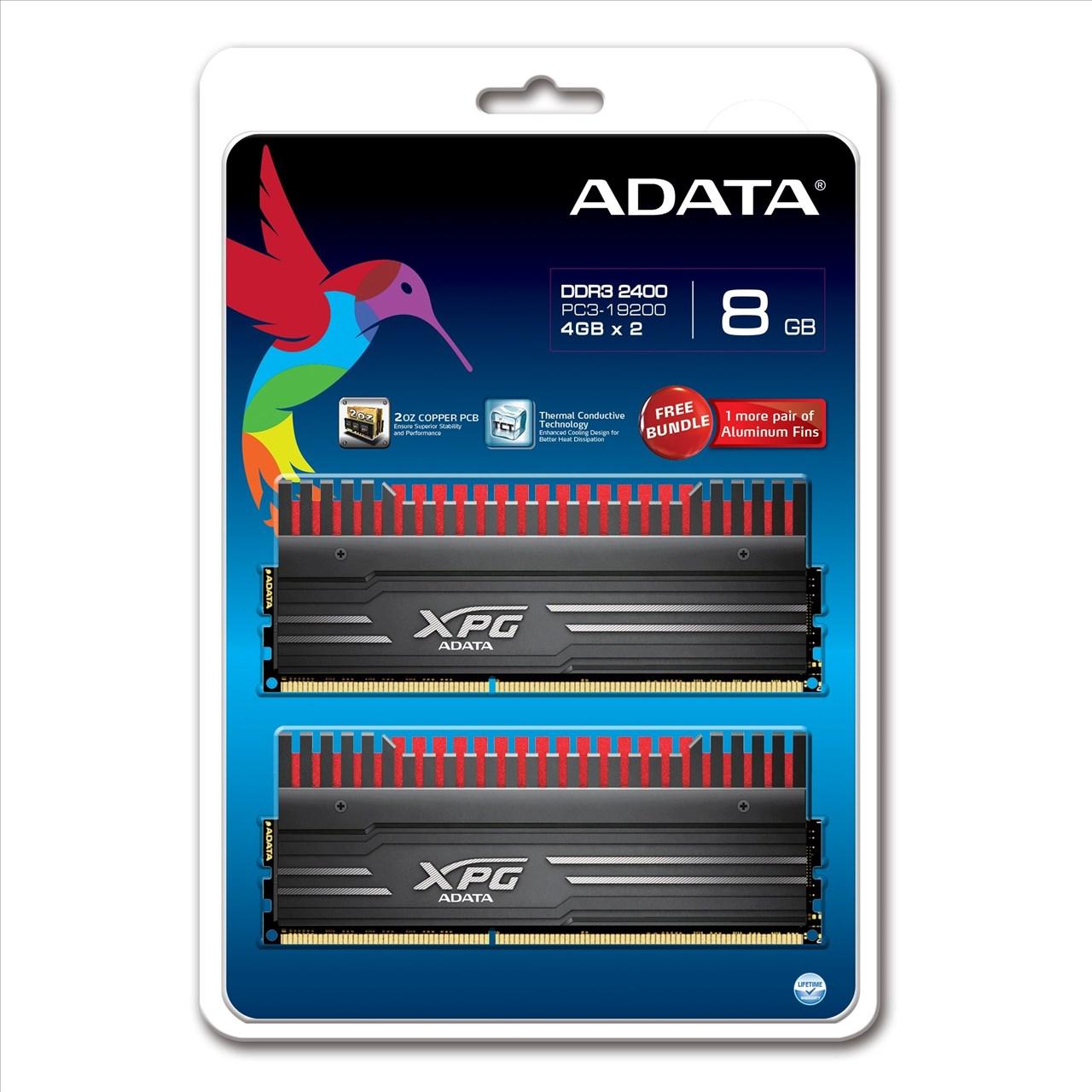 *╯新風尚潮流╭*威剛 XPG V3 超頻 8G DDR3-2400 AX3U2400W4G11-DBV-RG