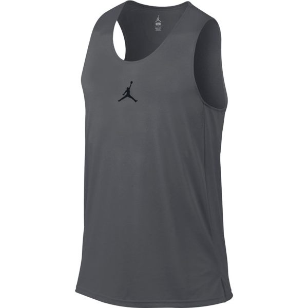 NIKE Jordan Flight Basketball Jersey男裝 背心 籃球 Jordan 彈性 排汗 灰 【運動世界】831377-021