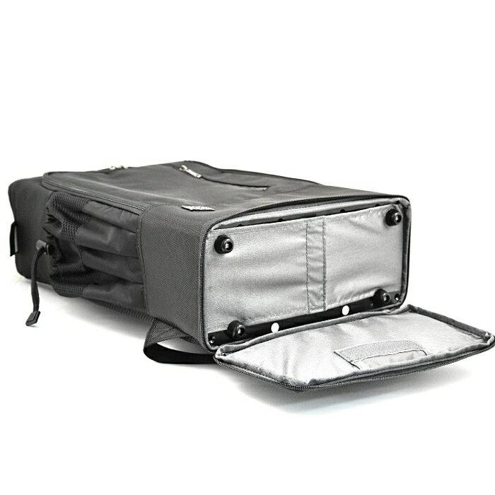 PackChair椅子包 盾牌包 防身包 電腦包 後背包 自助旅行包 黑色有胸扣版 9