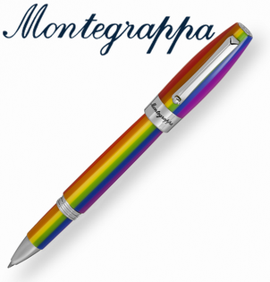 義大利Montegrappa萬特佳RAINBOW財富彩虹系列-鋼珠筆ISFORRIR支