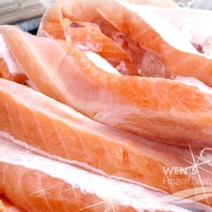 ~海鮮主義~鮭魚肚條 2入  包 300g  ~肉質細嫩,營養豐富 ~無刺輕鬆料理 ~煮湯