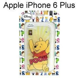【清倉價】迪士尼透明軟殼 iPhone 6 Plus / 6S Plus [放射] 小熊維尼【Disney正版授權】