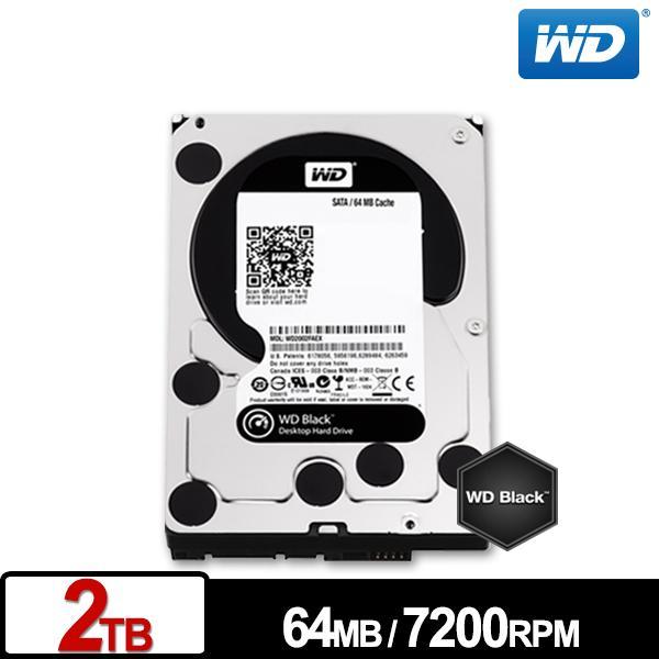 ★綠G能★全新★WD2003FZEX 黑標 2TB 3.5吋SATA硬碟7200RPM 5年保