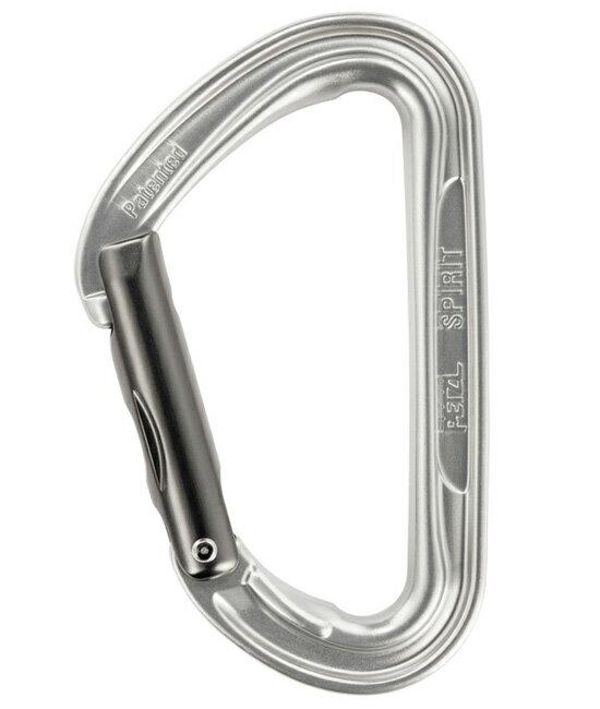 【鄉野情戶外用品店】 Petzl |法國|  SPIRIT 鋁合金輕量快扣勾環/技術攀登鉤環/M53-S