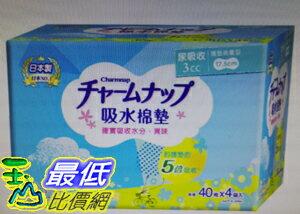 [COSCO代購]促銷至9月30日W118786Charmnap女性漏尿墊3毫升160入(兩組裝)