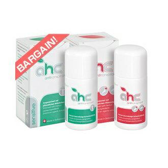 止汗劑【AHCswiss台灣】AHC敏感型與AHC強效型 各30ml組合 - 限時優惠好康折扣