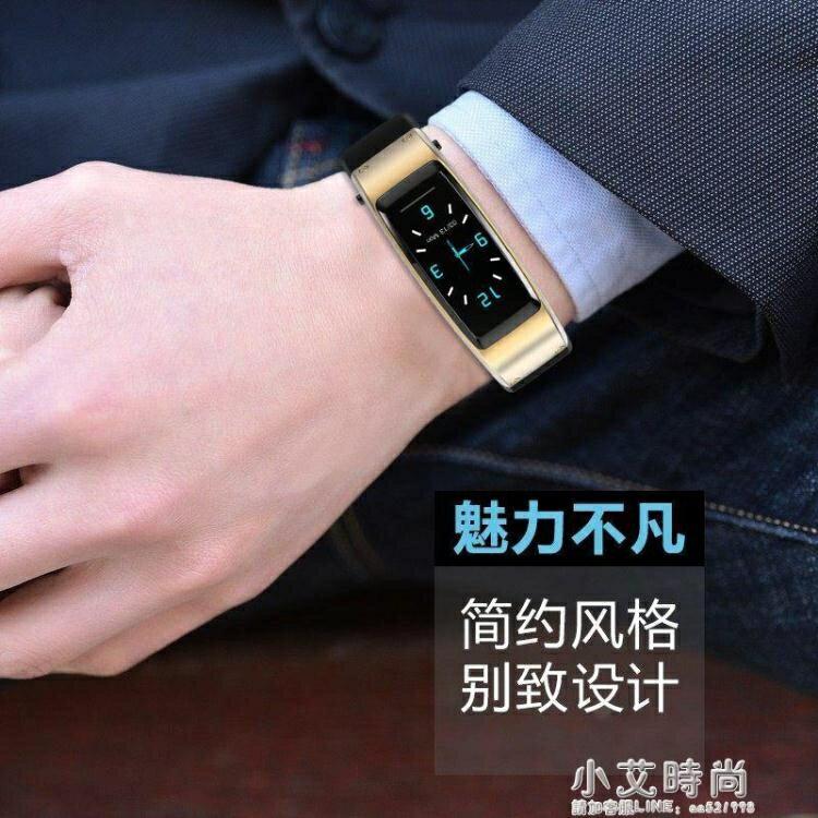 B6S大彩屏防水智慧手環耳機二合一分離式通話監測男女運動計步器手錶【全館免運 限時鉅惠】