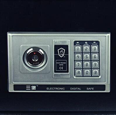 保險櫃 高檔全鋼電子密碼入牆保險箱家用小型迷你隱形防盜單門保險櫃【全館免運 限時鉅惠】