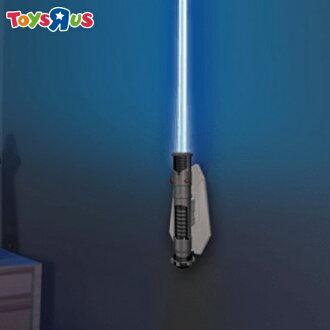 玩具反斗城 星際大戰 光劍造型遙控壁燈 歐比王 肯諾比