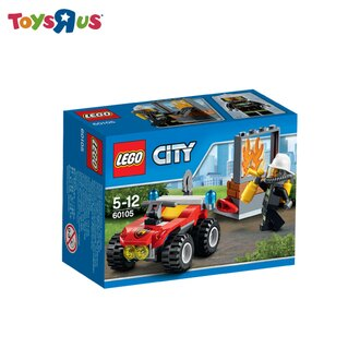 玩具反斗城  樂高 Lego City 全地形消防車-60105