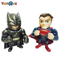 蝙蝠俠與超人周邊商品推薦玩具反斗城  4吋合金裝甲蝙蝠俠&超人