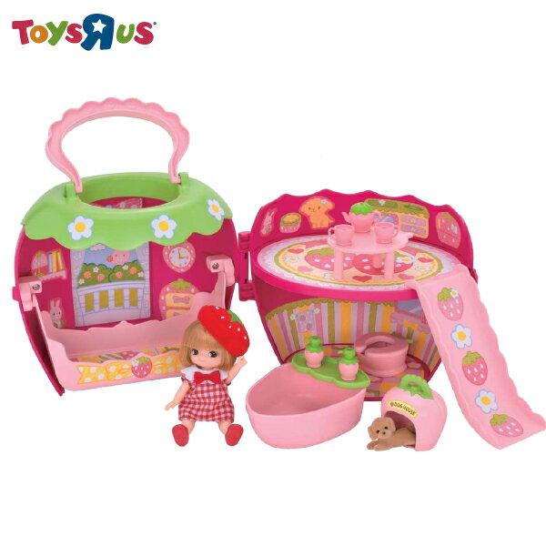 玩具反斗城 莉卡寶貝草莓屋組
