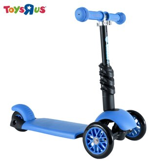 玩具反斗城 【Yvolution】 平衡滑步車-三合一(藍)