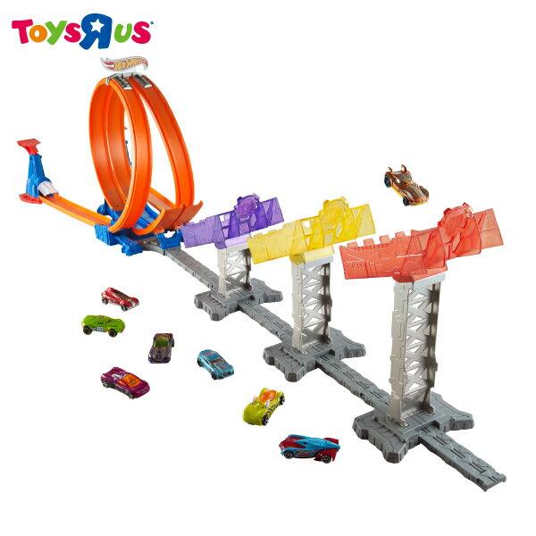 玩具反斗城 風火輪極限跳躍軌道組