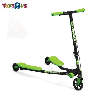玩具反斗城 Y.Fliker 搖擺滑板車-兒童入門款(綠色)