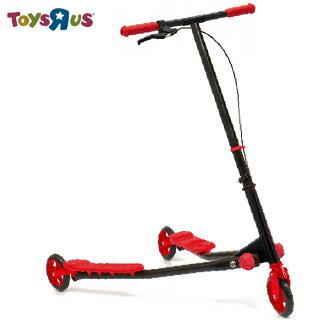 玩具反斗城 Y.Fliker 搖擺滑板車-熱門進階款(紅色)