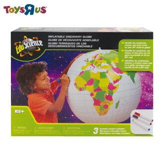 玩具反斗城 24可著色充氣式地球儀