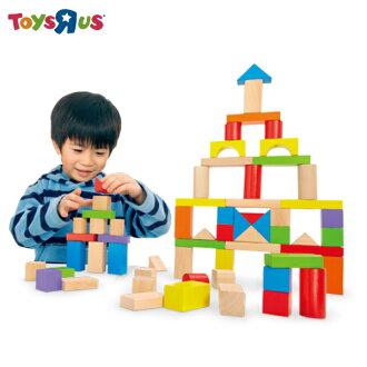 75pcs桶裝積木 玩具反斗城