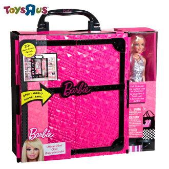 芭比時尚衣櫃人物組 玩具反斗城