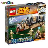 玩具反斗城  樂高 LEGO 75086 星際大戰 star wars 戰鬥機器人 運兵艦***
