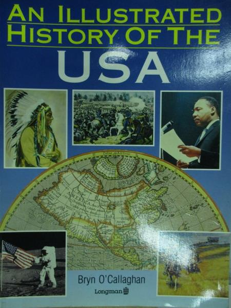 【書寶二手書T2/歷史_YKR】AN Illustrated history of the usa_1990