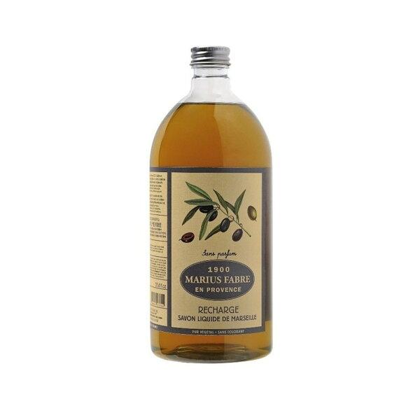 MARIUSFABRE法鉑天然草本無香料液體皂1L附壓頭