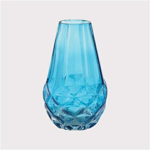 鋸狀幾何玻璃花瓶S