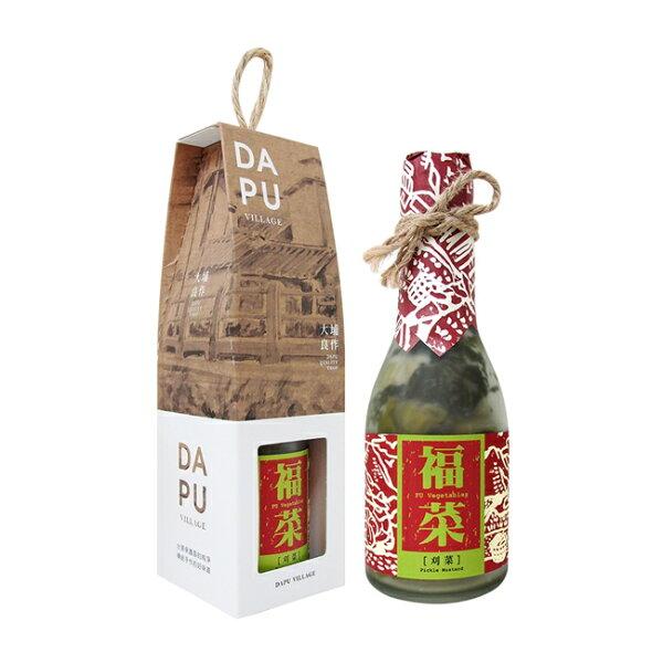 好客HAOKE:《好客-大埔合作社》福菜:芥菜(共三瓶)(免運商品)_A050020