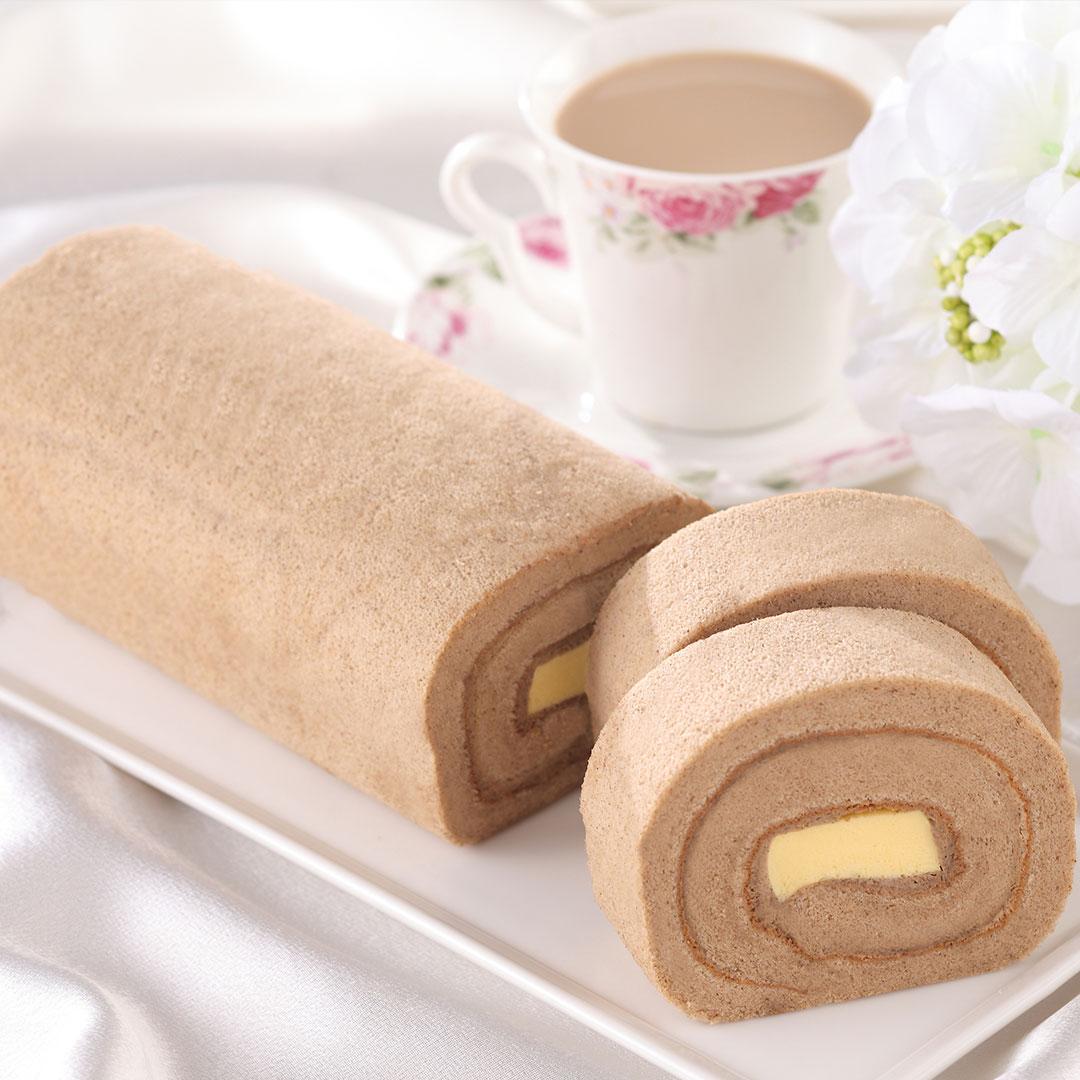 台灣必喝飲品(布丁奶茶)的蛋糕化身-奶茶甜心[不二緻果 原高雄不二家]港都80年老店 0