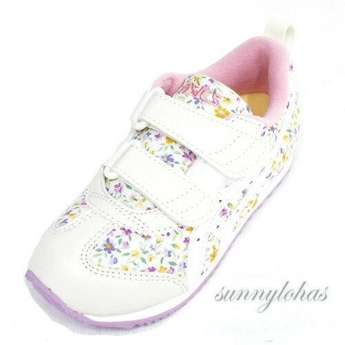 【ASICS亞瑟士】SUKU2機能童鞋MEXICONARROWMINI1144A006-500碎花紫