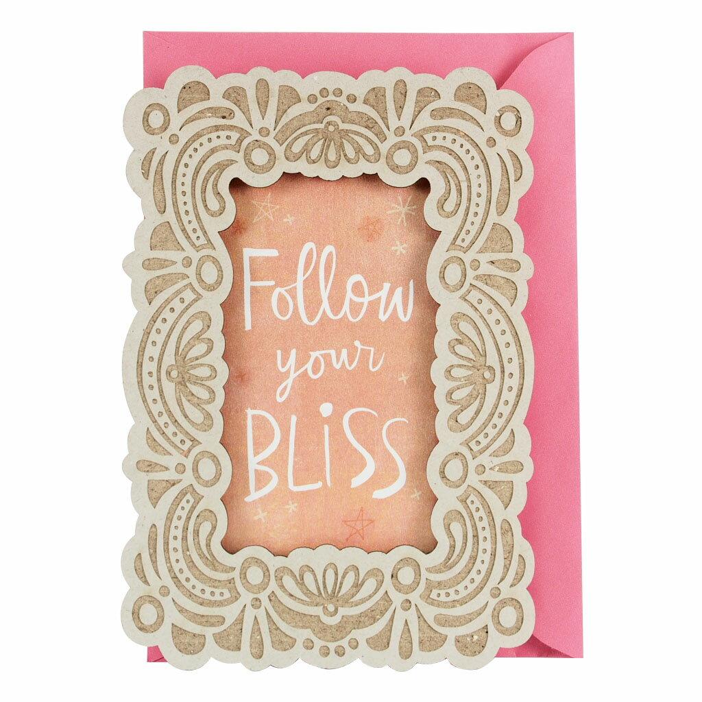 剪刀石頭紙~Signature 系列 生日卡~跟隨著你生俱來的福氣