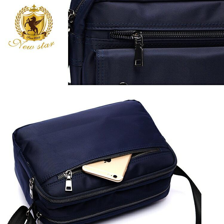 日系防水側背包包 升級版  (機能 雙口袋 雙層 斜背包 porter風 NEW STAR BL89 6