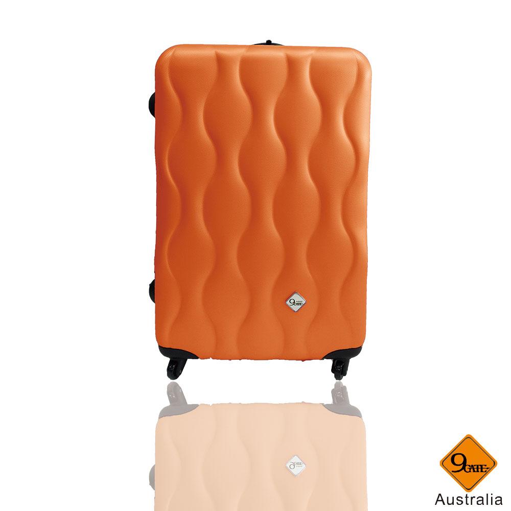 Gate9波西米亞系列ABS霧面輕硬殼24吋旅行箱 / 行李箱 3