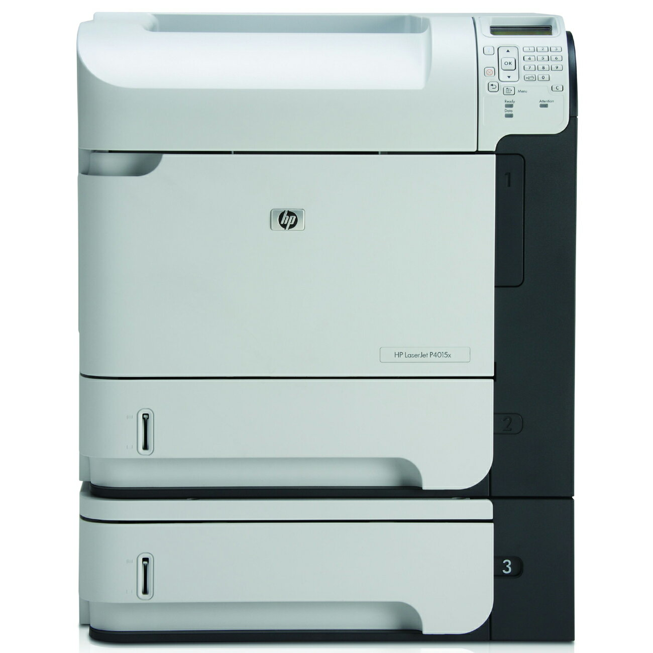 HP LaserJet P4515X Laser Printer - Monochrome - 1200 x 1200 dpi Print - Plain Paper Print - Desktop - 62 ppm Mono Print - Letter, Legal, Executive, Statement, Com10 Envelope, Monarch Envelope, Custom Size - 1100 sheets Standard Input Capacity - 275000 Dut 0