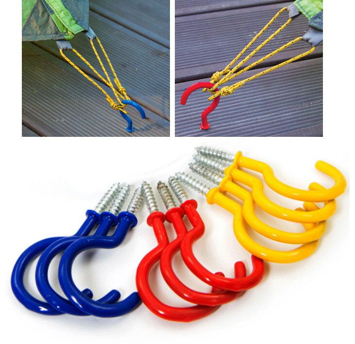 【樂遊遊】棧板專用螺絲地釘/ 螺絲釘 螺紋地釘 甲板地釘 棧板地釘 營繩固定 防風拉繩扣