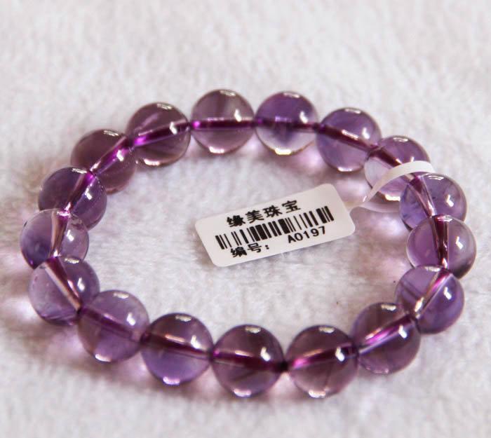 時尚紫水晶手鏈紫水晶手鏈11.8mmA197