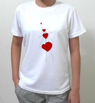 Love on top『LOVE』系列 HiCool機能性吸濕排汗圓領T恤
