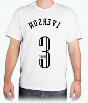 『NBA戰神 Iverson』HiCool機能性吸濕排汗圓領T恤