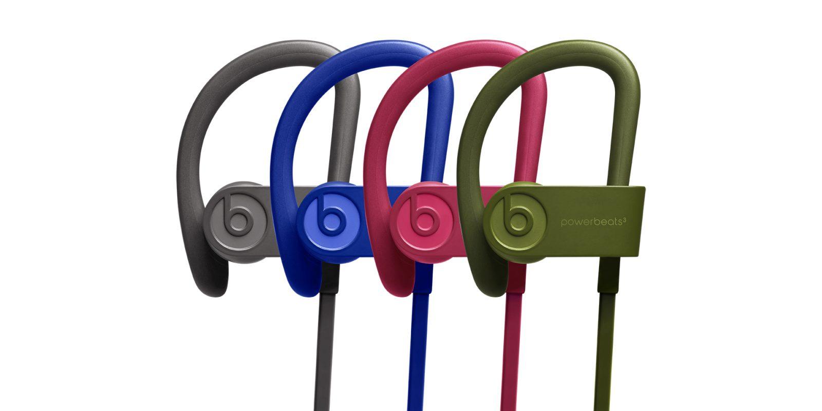 Beats Powerbeats3 Bluetooth Wireless Earphones Brick Red Turf Green Break Blue Asphalt Gray Sold By Proelectronics Distributing Inc Rakuten Com Shop